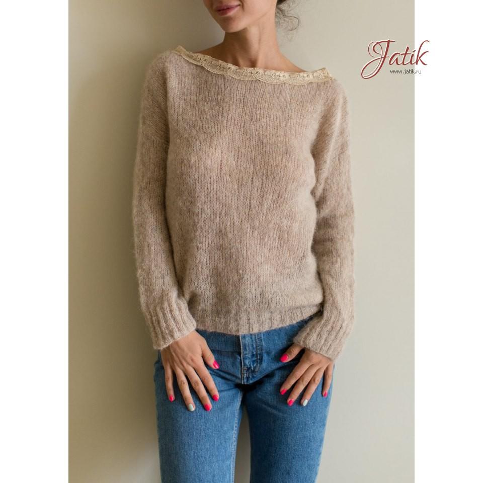 Шерсть для вязания свитера